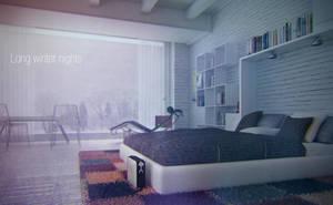 Winter bedroom 2 by bizkitfan