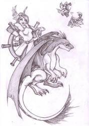 How to train my dragon by Baalah