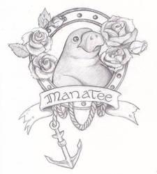 Odd Tattoos: Level Manatee by Baalah