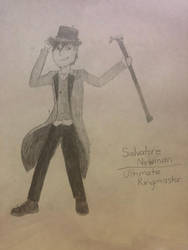Salvatore Newman, the Ultimate Ringmaster by pencil-lead-guy