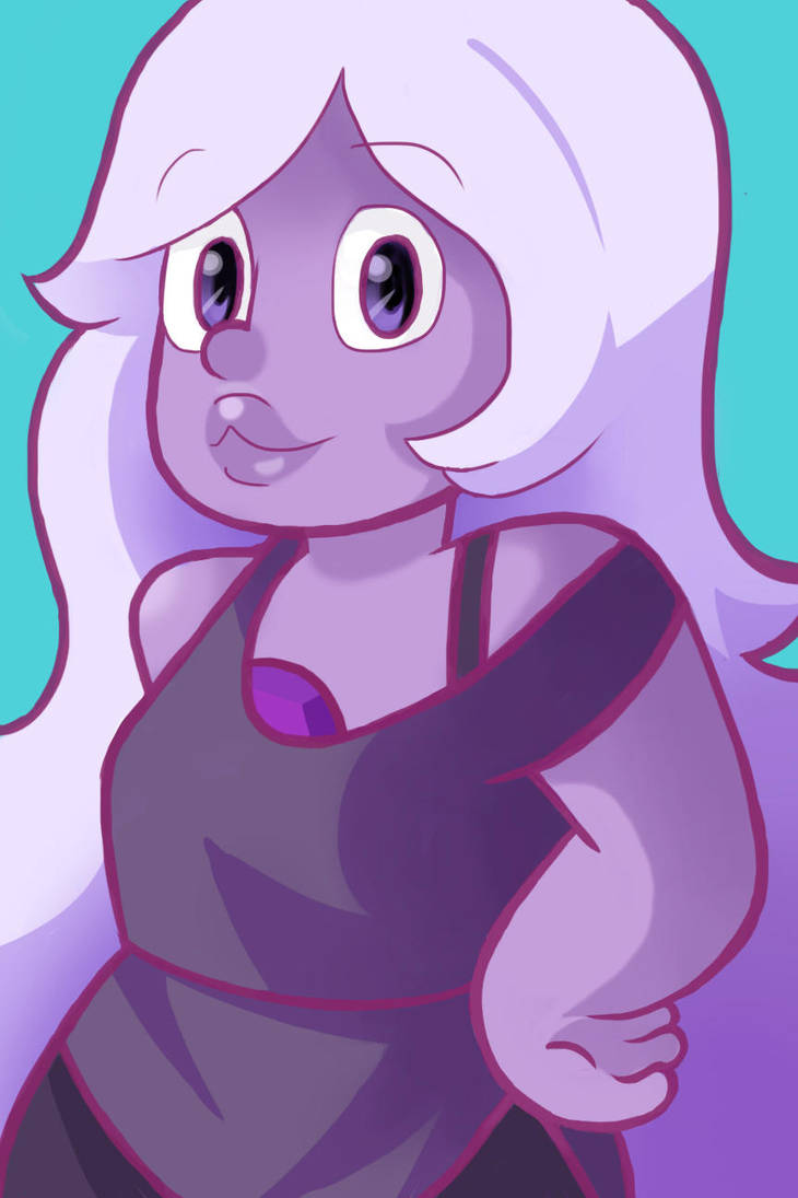 Steven Universe is AMAZING! the artwork, animation, and the script are all perfect in my book! Amethyst is my favorite character, hence the drawing of her. If you haven't checked out the show alrea...
