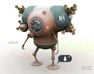 Gatmek Robot by Spex84