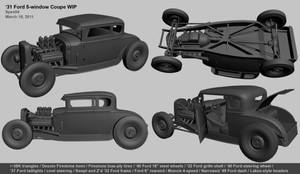 '31 Ford 5-window Coupe v2011 by Spex84