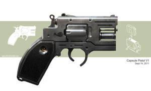 Capsule pistol by Spex84