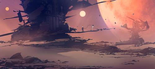 Space Doodle Explorer by Spex84