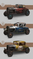 '30s Banger racers by Spex84
