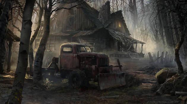 Creepy Cabin by Spex84