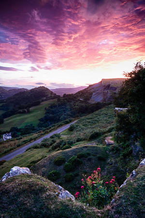 Dinas Bran by CharmingPhotography
