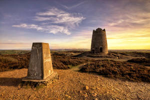 Trigpoint to the tower by CharmingPhotography