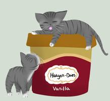 A gallon of vanilla by Lunaoverthecow