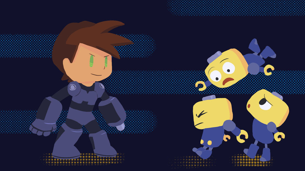 Megaman Legends by Lunaoverthecow