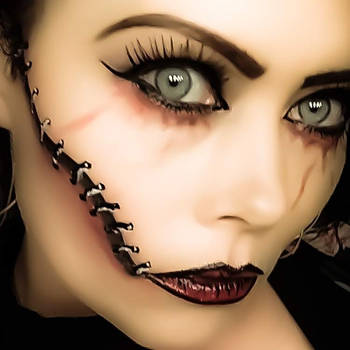 makeup art model by mandym3083