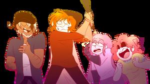 Draw the squad - Otfun family by Hitsku