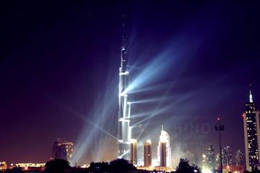 Burj Khalifa by light-from-Emirates