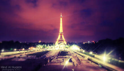 Paris at night. .. by light-from-Emirates