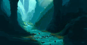 Secret river by Samrec
