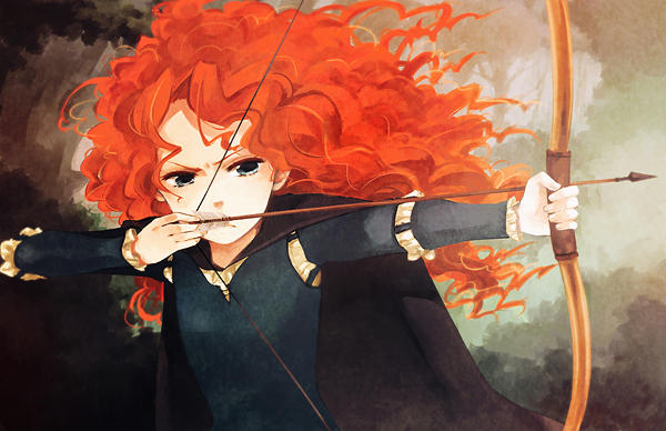 Merida by loveariddle