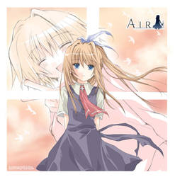 +-AIR-+Misuzu by loveariddle