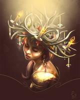 Autumn Antlers by DeviousSqurl