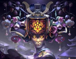 Lustre: Geisha Light Festival by DeviousSqurl