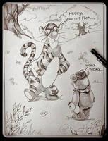 Pooh Prank by DeviousSqurl