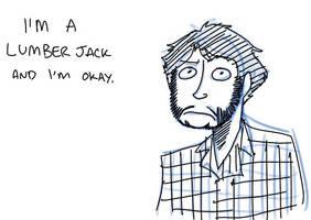 He's a lumberjack by MiniMask