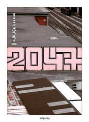 2047 - suburban odyssey by chromaphobia