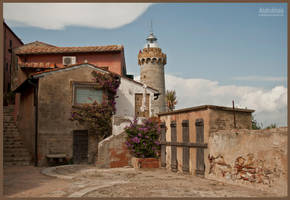 The lighthouse in Portoferraio by Anakuklosis