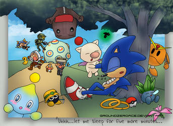 Wake up Sonic... by groundzeroace