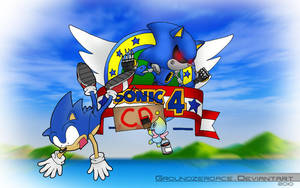Sonic The Hedgehog 4....CD by groundzeroace