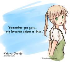 Katawa Shoujo - Colour... by groundzeroace