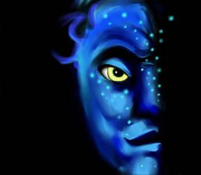 Avatar...in the darkness by talkin2wallz