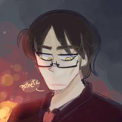 Satoru Picture Sketch by Okusheny