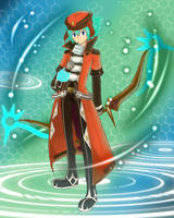 .hack LINK- Kite Xth Form by StarEspeon