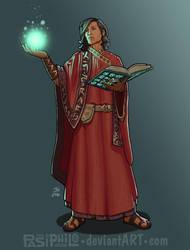 Aetius Scipio, Human Wizard by Pasiphilo