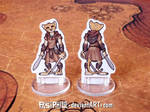 Female Tabaxi Rogue Custom Miniature (Commission) by Pasiphilo