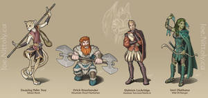 Adventuring Party II by Pasiphilo