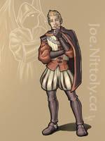Quinten, Aasimar Sorcerer by Pasiphilo