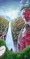 Until The Last Petal Falls by SereneIllustrations