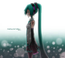 Hatsune Miku by dhymz91
