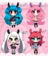 :Points Adopts: SET PRICE (OPEN) (Lower Price) by MeguBunnii