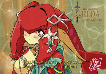 :Retro: Mipha by MeguBunnii