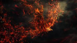 Fire eagle by igreeny