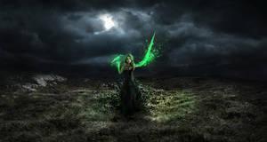 sorceress by igreeny