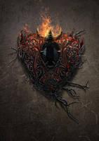 Dark hart stone by igreeny