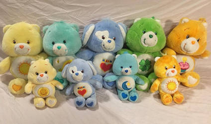 Care bear collection by pinkcollector