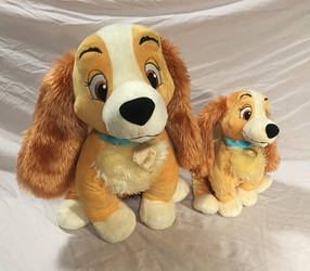 Lady and the tramp - Lady Plush by pinkcollector