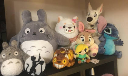 Plush collection 1 by pinkcollector