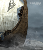 The Lonely (Sea) Wolf by warofragnarok