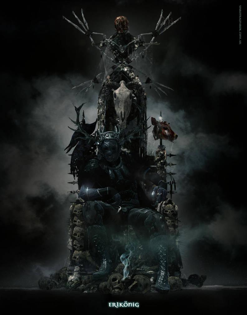 Dark Throne by warofragnarok